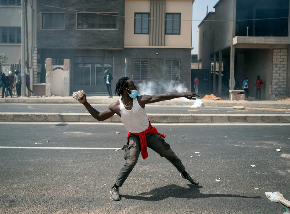 APTOPIX Senegal Opposition Leader