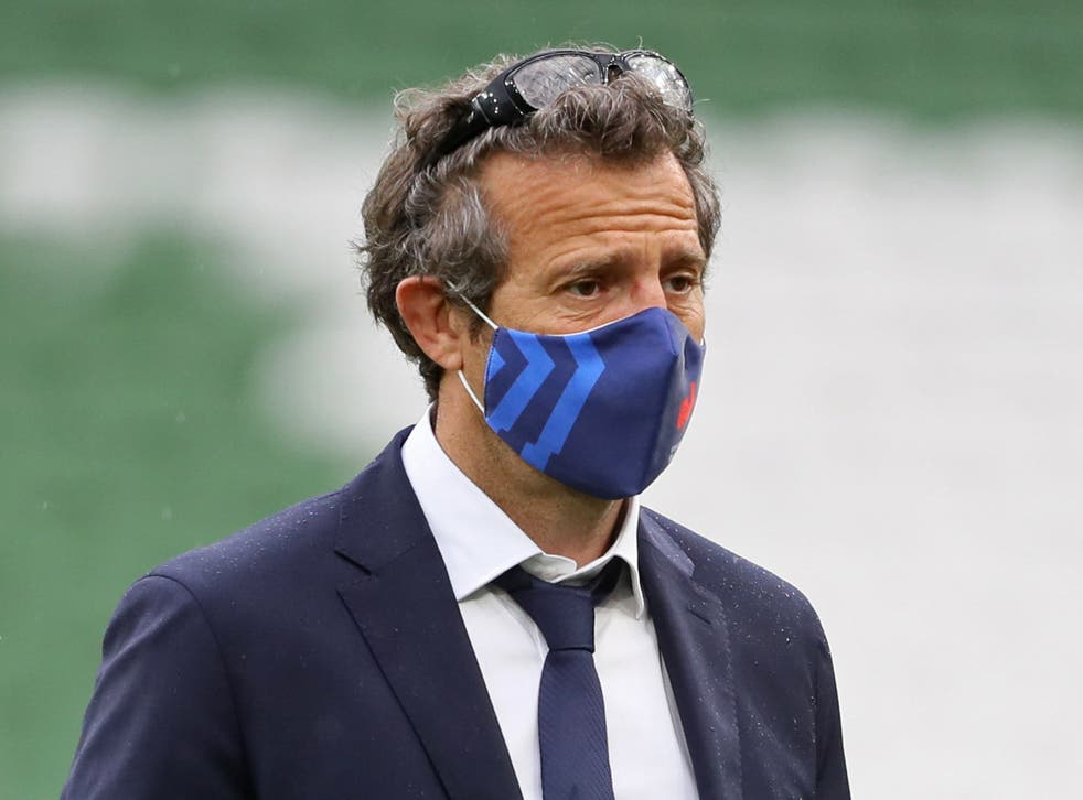 Fabien Galthie, head coach of the France rugby team