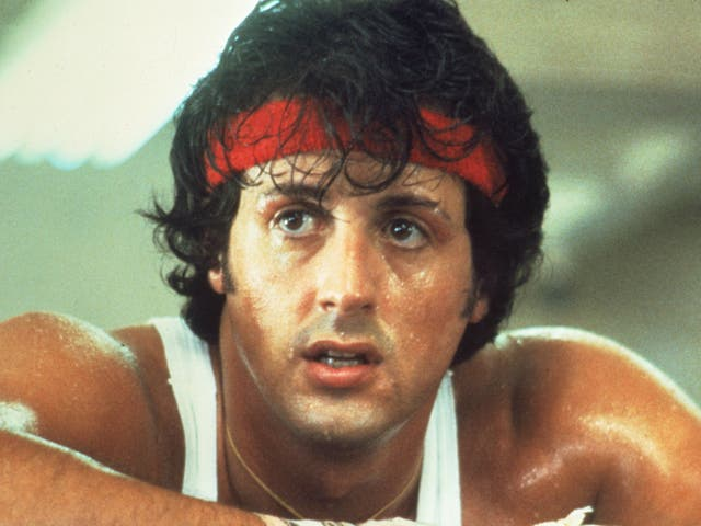 <p>Sylvester Stallone as Rocky Balboa in 'Rocky' in 1976</p>