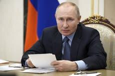 Vladimir Putin ordenaría arrestos a quienes lleven niños a protestas