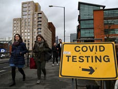 Coronavirus infections fall in England by two thirds during lockdown, research finds