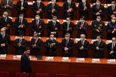 China advisers meet amid pandemic, Hong Kong crackdown