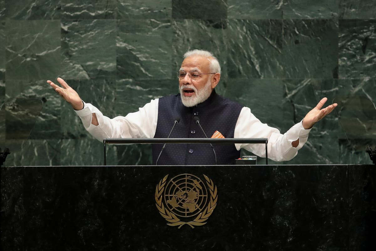 India 'no longer a free country', says global watchdog report - independent