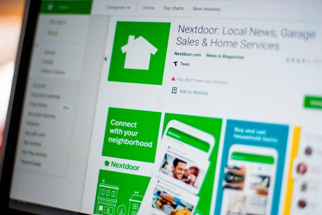<p>Nextdoor, the hyper local social network allows neighbours to offer to pick up groceries or medicine, to share supplies, walk people's dogs or do some spying.</p>