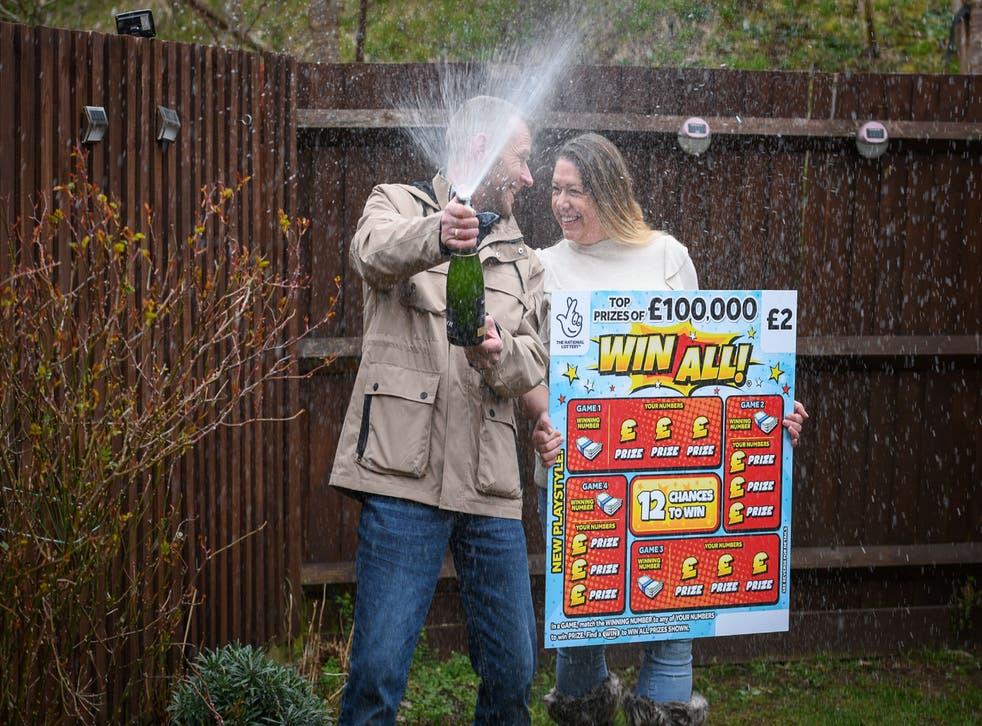 Jonny Wright celebrates his win