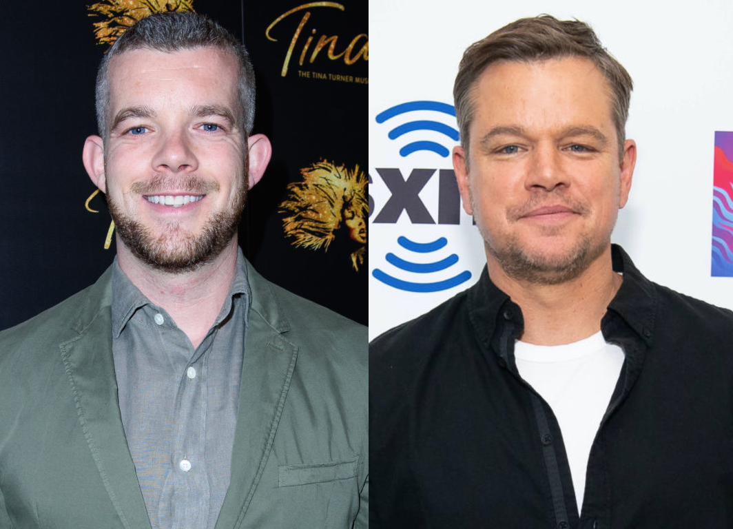 Russell Tovey has hilarious response to being compared to Matt Damon lookalike