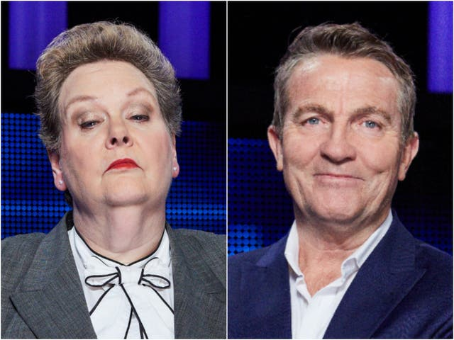 Anne Hegerty and Bradley Walsh, stars of The Chase