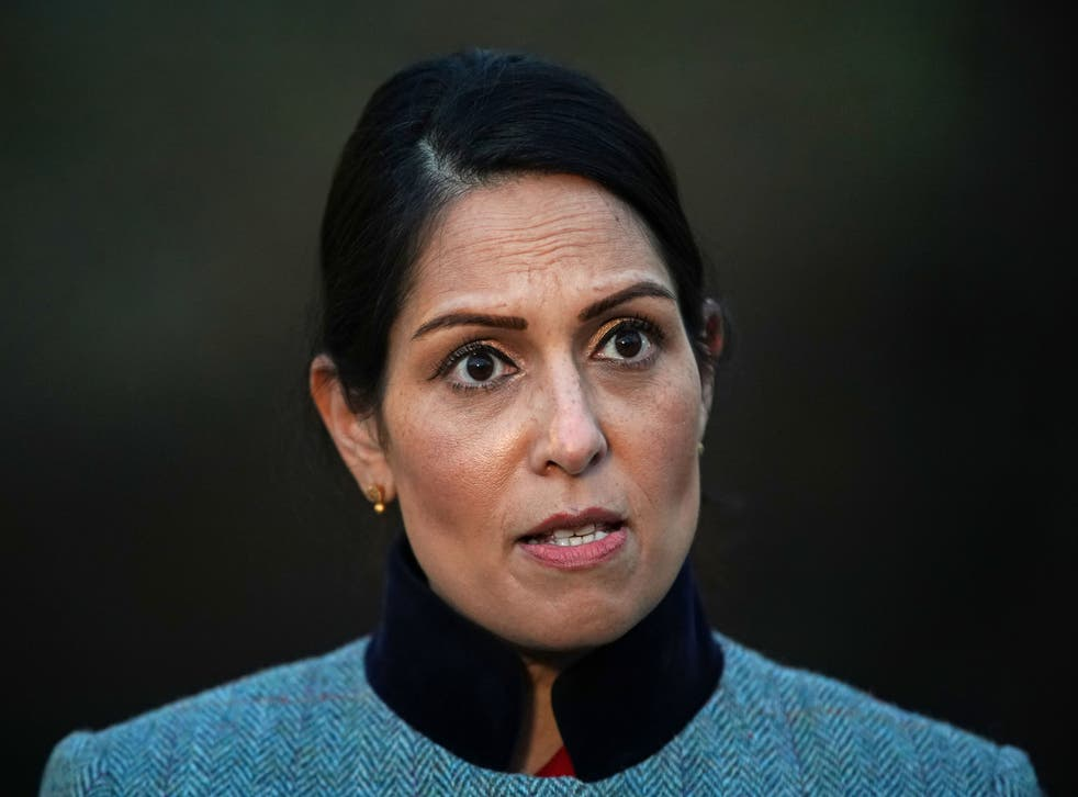 <p>Patel has been criticised after data revealed 214 people have been waiting over 18 months for their compensation to be processed </p>