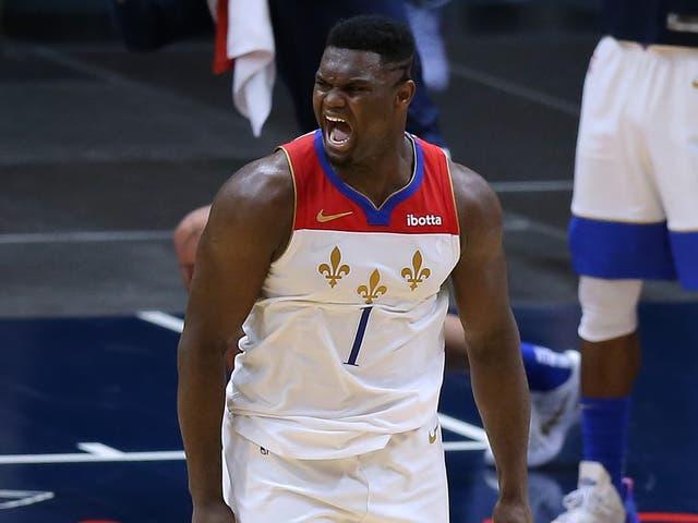 New Orleans Pelican power forward Zion Williamson