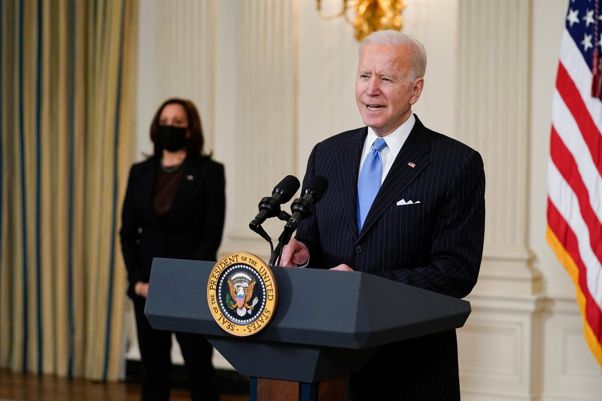 Pressure builds for Biden to hold press conference after video cuts him off as he offers to answer questions - independent
