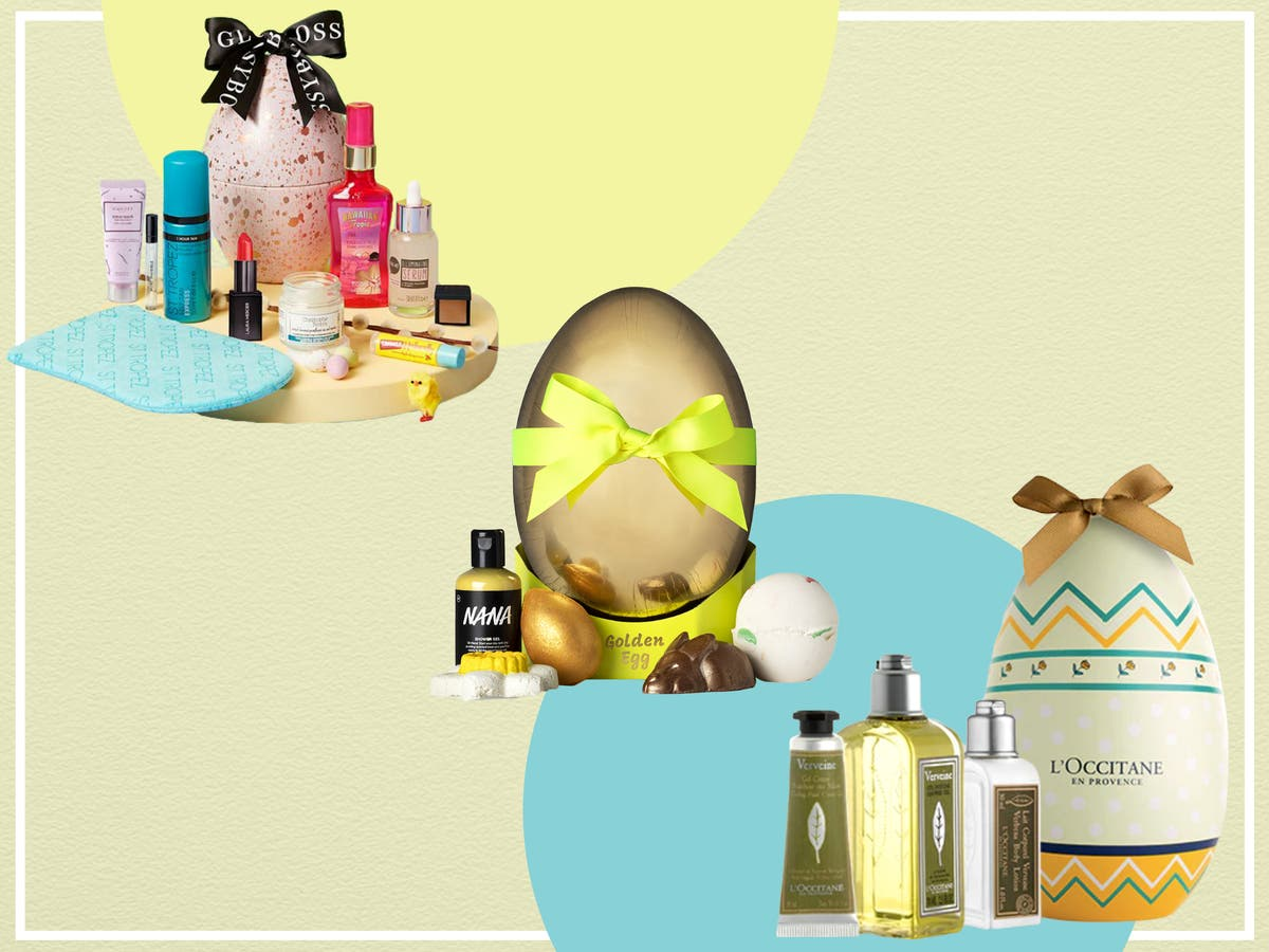 Lookfantastic launched an Easter egg filled with beauty buys
