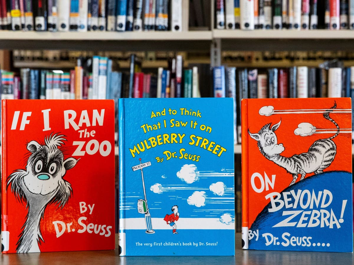 Dr Seuss books are nine of the top 10 best-selling titles on Amazon after 'cancel' row - independent