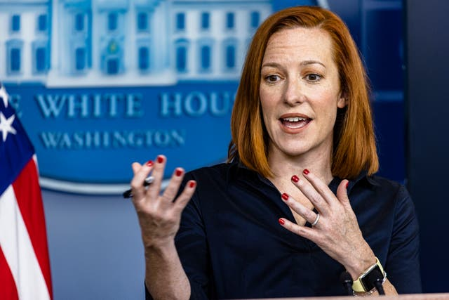 <p>White House scoffs at idea Trump deserves credit for vaccines saying half a million Americans died under his watch</p>