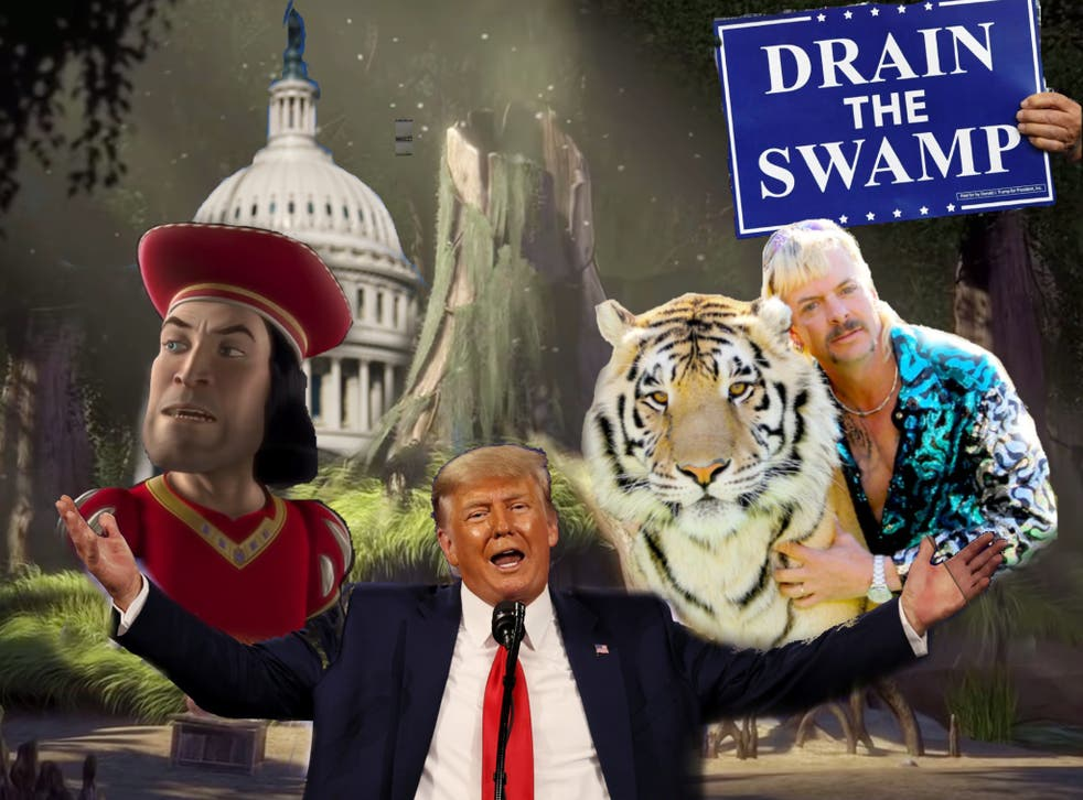 Trump and Lord Farquaad have both expressed interests in draining swamps