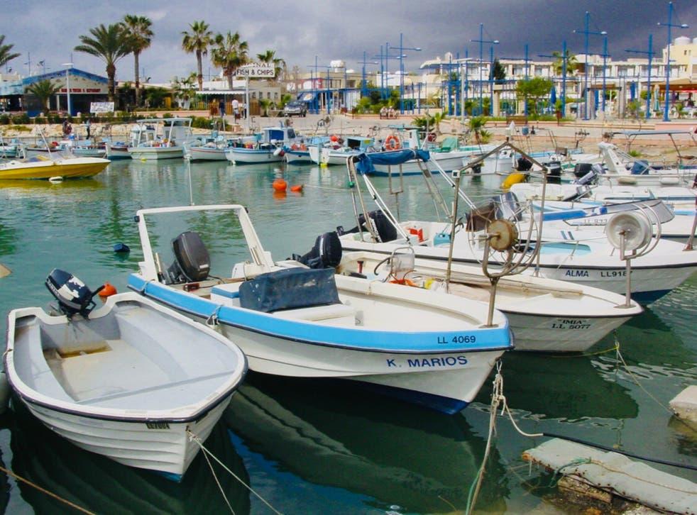 Welcome sight: Ayia Napa in Cyprus