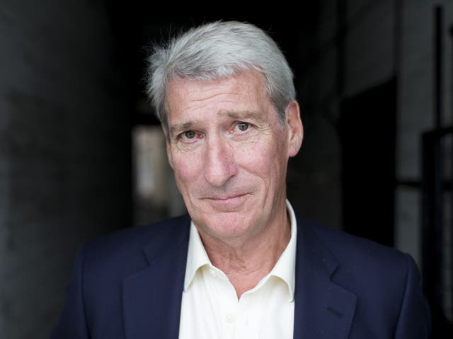Paxman in 2014 shortly after his final Newsnight broadcast