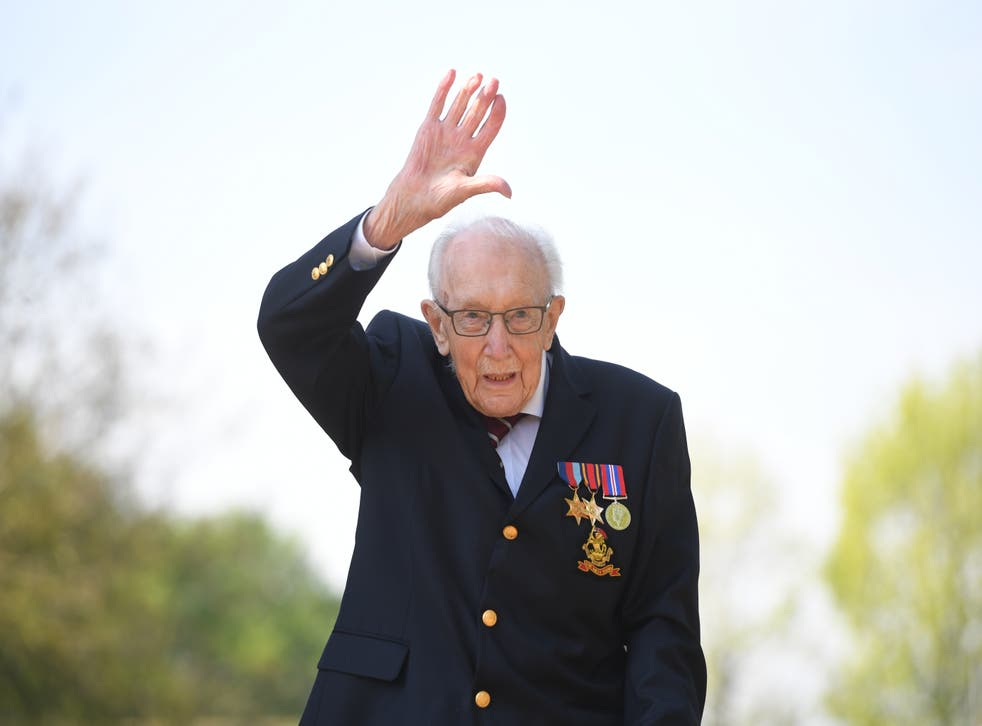 Captain Sir Tom Moore death