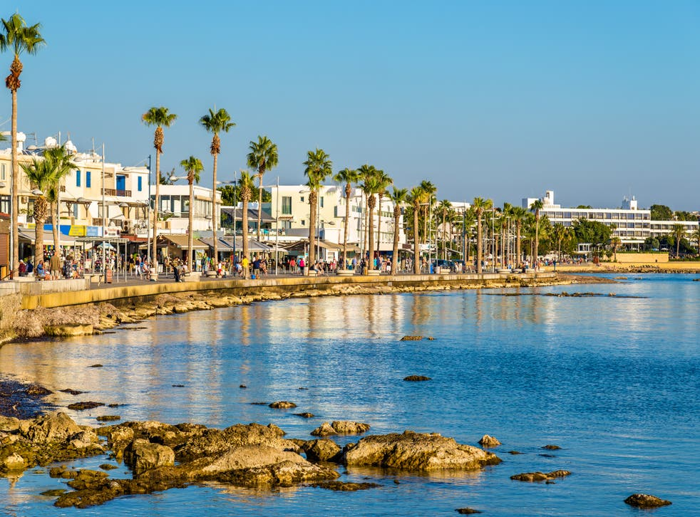Cyprus is opening up for British tourists in May