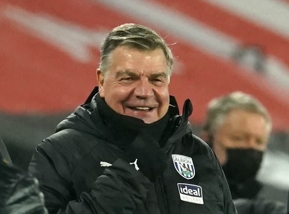 West Brom coach Sam Allardyce previously managed Newcastle