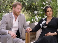 Harry and Meghan Oprah interview - live: Duchess not expected to criticise Kate as 'Harry calls Queen'