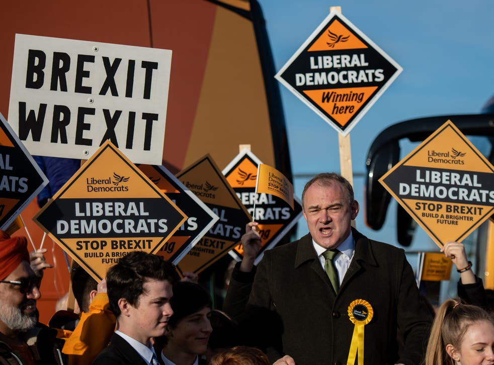 Ed Davey hit out at Brexit, the UK government and the SNP in one go