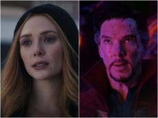 """Espectadores de WandaVision notan el """"siniestro"""" huevo de Pascua de Doctor Strange en la escena final"""