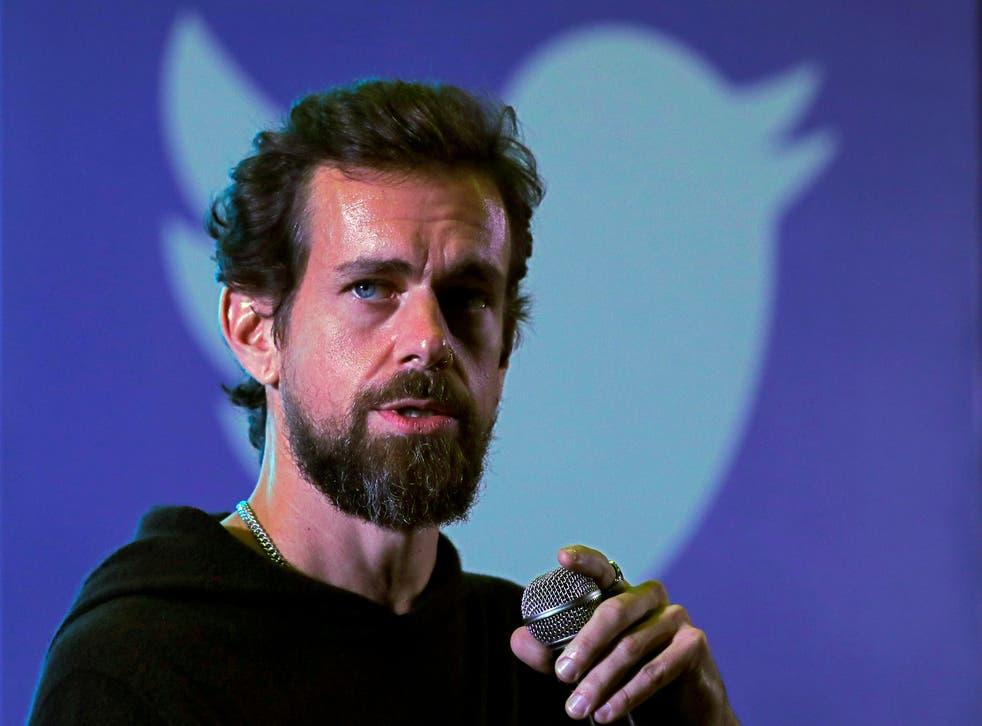 <p>Twitter CEO Jack Dorsey</p>