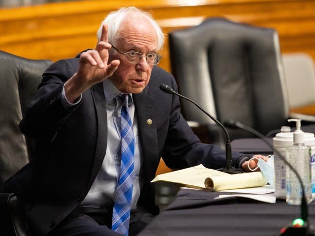 """<p>Sanders también llamó la atención sobre su postura a las personas mayores, asegurando que han tenido un """"año terrible"""".   </p>"""