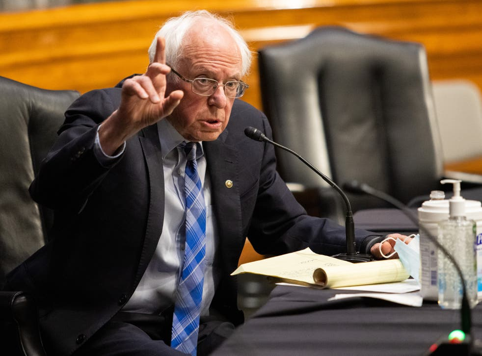 <p>Bernie Sanders spoke out forcefully in defense of embattled California governor Gavin Newsom on Monday.</p>