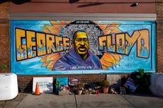 """Hombre muere en tiroteo mientras activistas """"bloquean a la policía"""" en el sitio conmemorativo de George Floyd"""