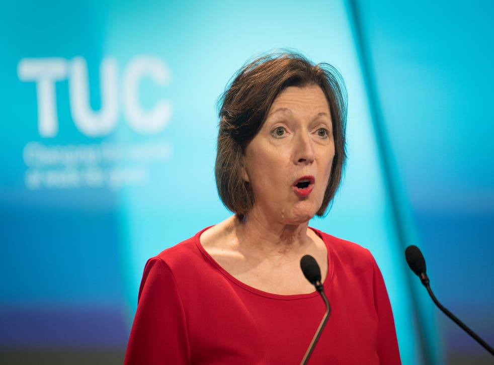 <p>TUC general secretary Frances O'Grady has highlighted the plight of female workers during the pandemic  </p>