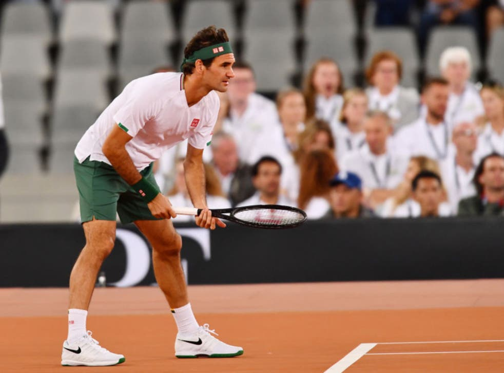 <p>Roger Federer makes his comeback this week</p>