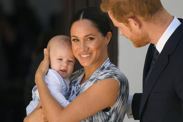 <p>La pareja anunció el sexo de su segundo hijo durante su muy esperada entrevista con Oprah Winfrey, que se transmitió el domingo.  </p>
