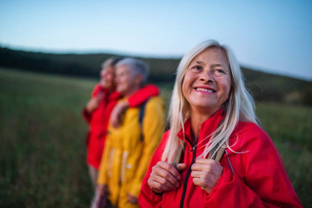 A group of female travellers (iStock/PA)