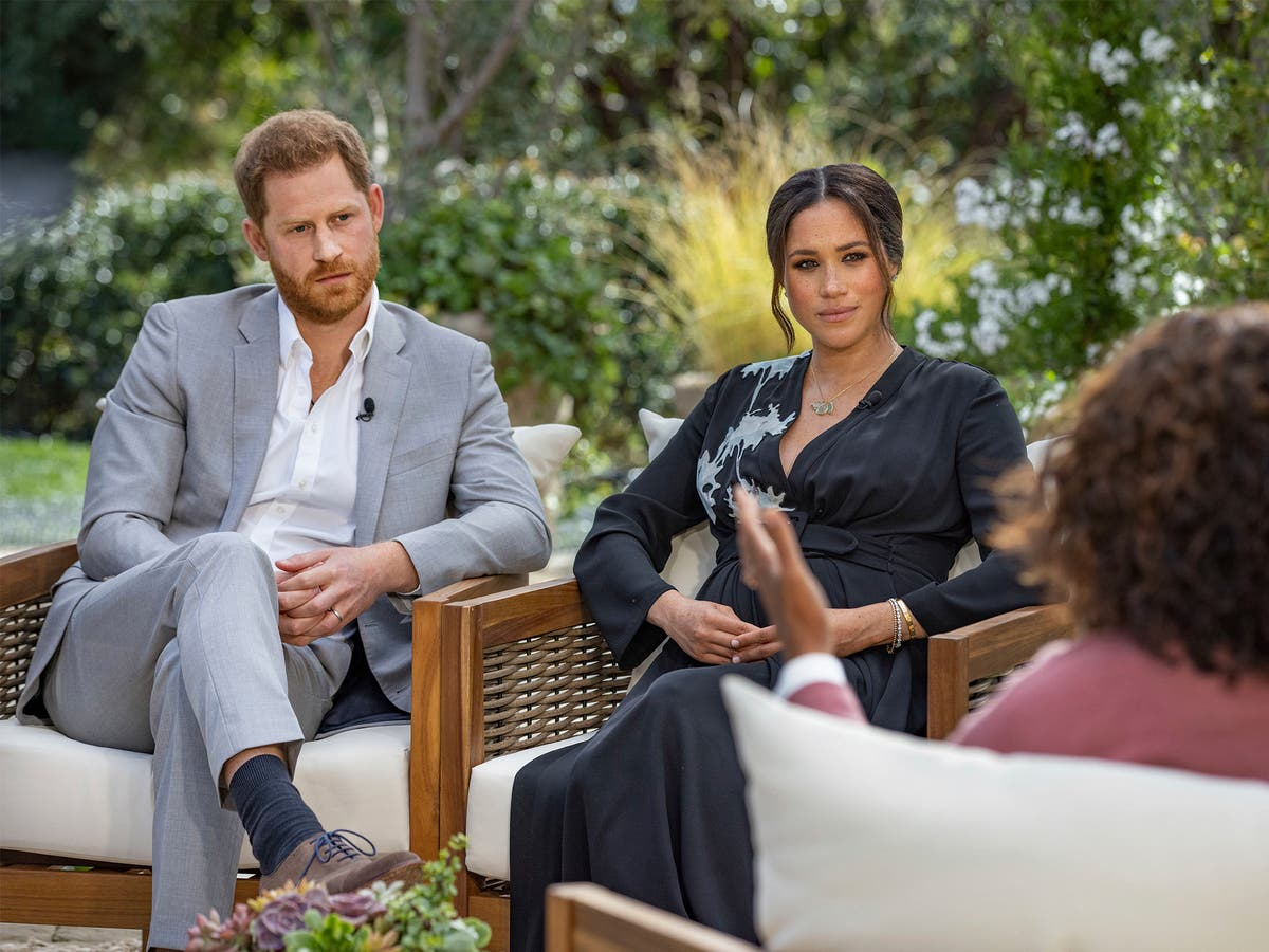 Harry and Meghan: Jada Pinkett Smith and Gabrielle Union among celebrities to react after Oprah interview - The Independent