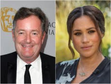 "Piers Morgan es destrozado por su ""odioso"" ataque a Meghan Markle y el príncipe Harry en Good Morning Britain"