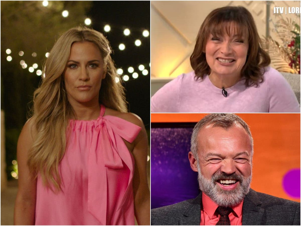 Caroline Flack's mother calls out Lorraine Kelly and Graham Norton for laughing about daughter's career woes