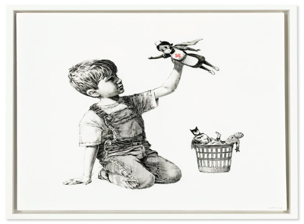 Game Changer by Banksy (Banksy)