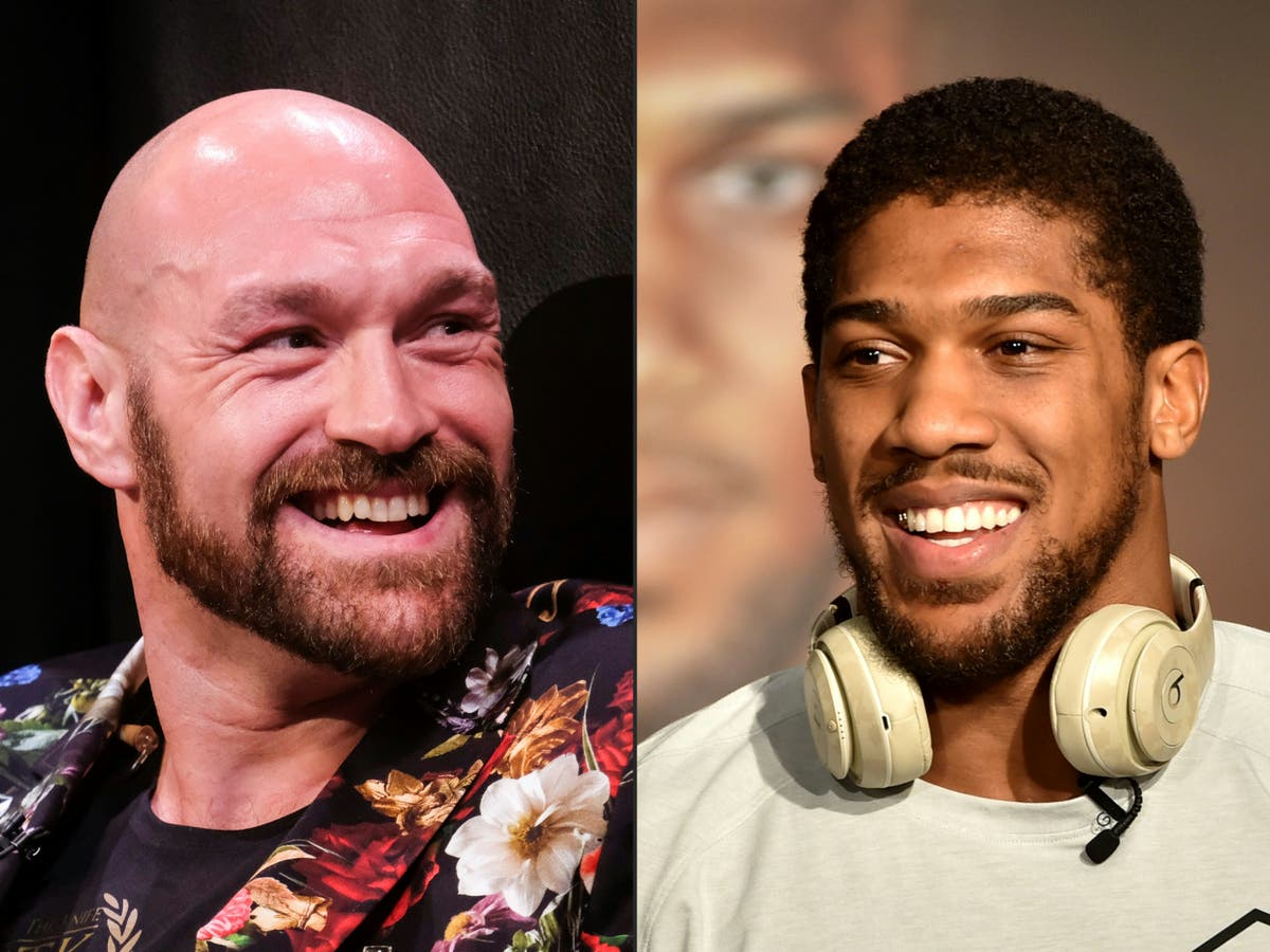 Image When is Anthony Joshua vs Tyson Fury fight and where will it take place?