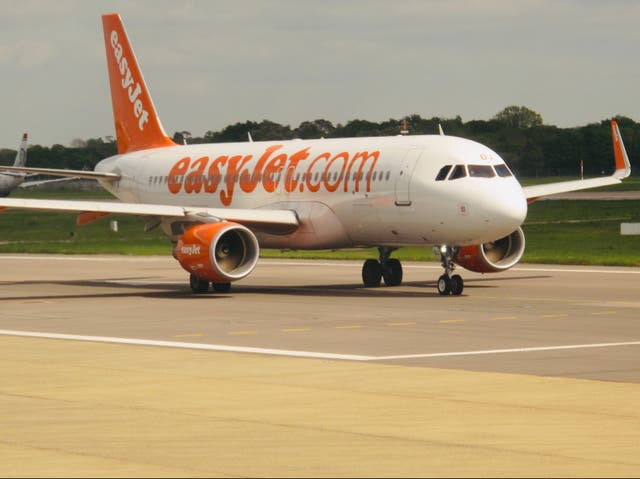 Going places? An easyJet Airbus A320 at Gatwick airport