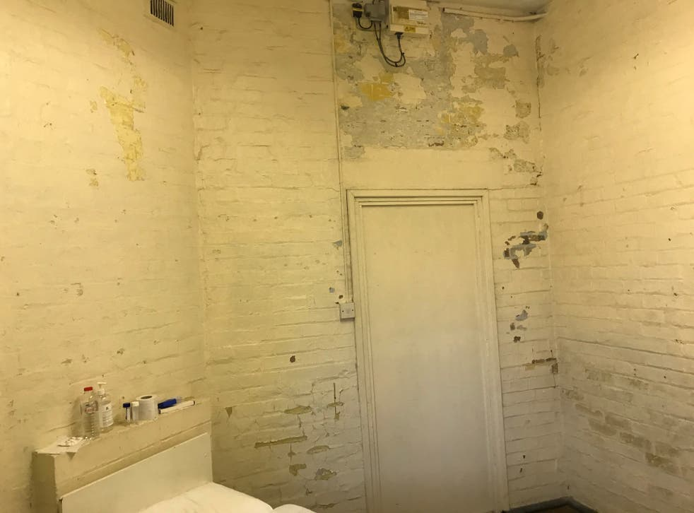 <p>People at risk of self-harm in Napier Barracks were placed in a 'decrepit isolation block' considered 'unfit for habitation', inspectors found</p>