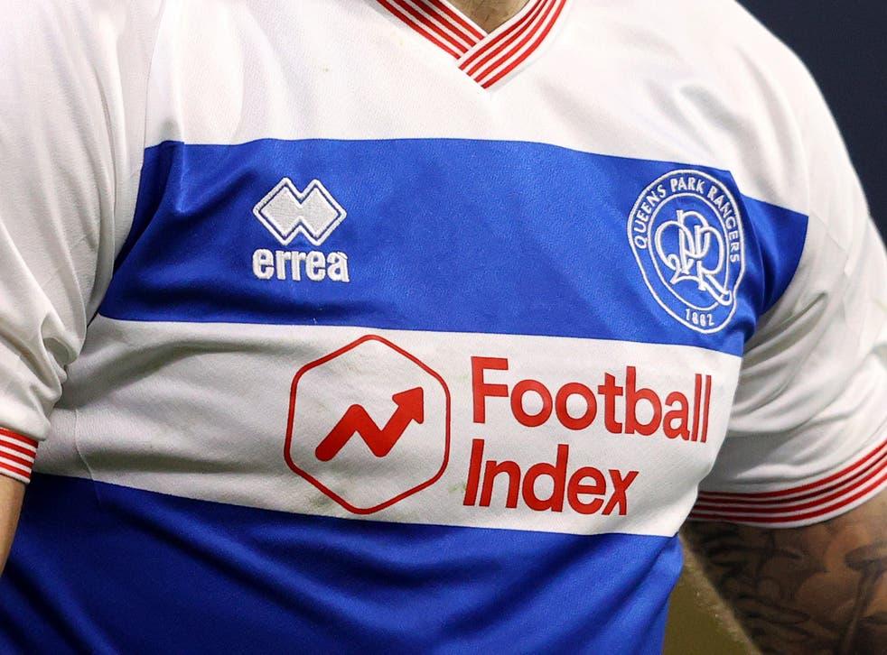 <p>Football Index sponsors Queens Park Rangers </p>