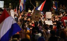 Paraguay vive su tercera jornada de protestas y se sacude el gobierno de Mario Abdo Benítez