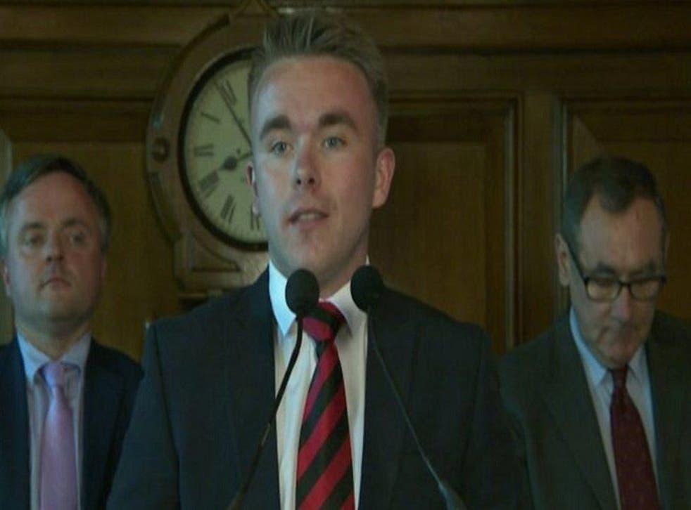 <p>Guy Spence resigned last year </p>