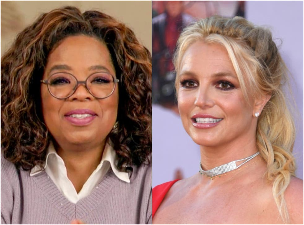 <p>Britney Spears is reportedly considering being interviewed by Oprah Winfrey</p>