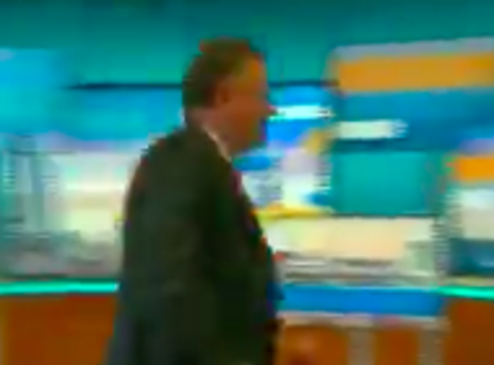 <p>Piers Morgan stormed off 'Good Morning Britain' after Alex Beresford called him out for Meghan Markle remarks</p>