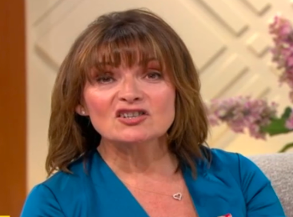 <p>Lorraine Kelly made the Prince Andrew comment right before the show ended</p>
