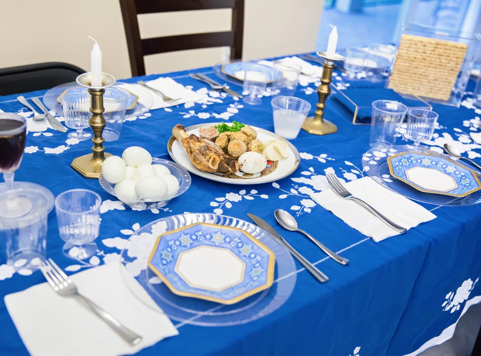 Traditional Passover meal features lamb