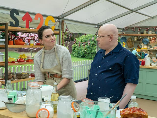 Daisy Ridley and Matt Lucas on The Great Celebrity Bake off