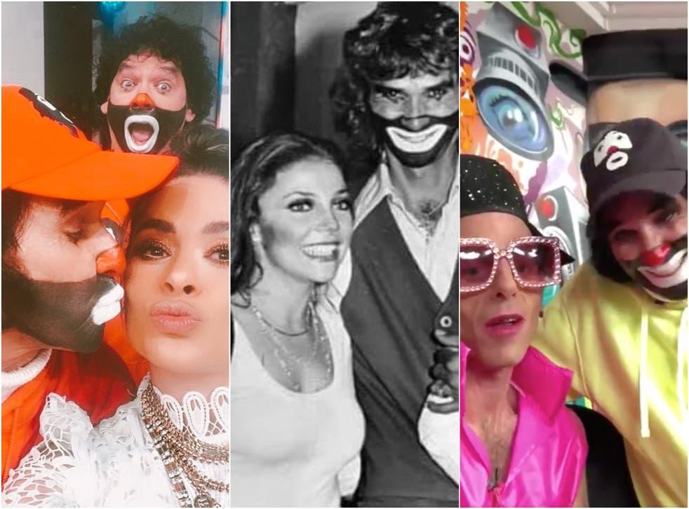 """""""Todos tenemos un lindo recuerdo tuyo y vas a estar siempre en nuestro corazón queridísimo Cepillín"""", dijo Verónica Castro (centro) en un tuit."""